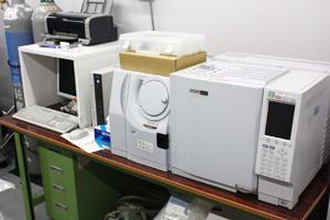 株式会社島津製作所製 GC-MS測定機 Parvum 2+GC-2010