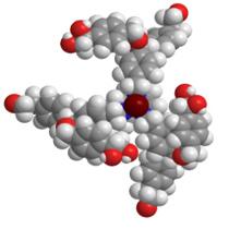Novel chiral dendrimer–triamine-coordinated Gd MRI contrast agent